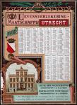 X-0000-0593 Levensverzekering Maatschappij Utrecht 1887.