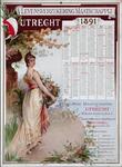 X-0000-0596 Levensverzekering Maatschappij Utrecht 1891