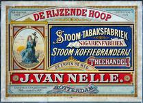 X-0000-0607 De Rijzende Hoop. Stoom-tabaksfabriek, Sigarenfabriek, Stoom-koffiebranderij. Theehandel De Erven de Wed. ...