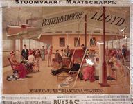 X-0000-0613 Rotterdamsche Lloyd, Stoomvaart Maatschappij, Koninklijke Nederlandsche Postvaart. Veertiendaagsche ...