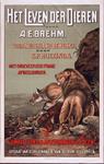 XIV-1961-0580 Het leven der dieren, door A.E. Brehm. Voor Nederland bewerkt door S.P. Huizinga. Uitgaaf van Schillemans ...