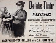 XIX-1966-0285 Deutsches Theater. Gastspiel der Niederländische Schauspieler-Vereins von Amsterdam. Artist. Leiter Herr ...