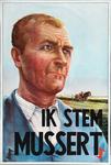 XV-1962-0067 N.S.B. Ik stem Mussert.