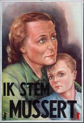 XV-1962-0068 N.S.B. Ik stem Mussert.