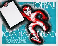 XV-1962-0080 Kofa-Maandblad. Hoera!! Het nieuwe Kofa-maandblad is er weer voor kopers boven een gulden.