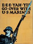XV-1962-0087 Wervingsplaten Amerikaansche Leger en Marine voor de oorlog '14-'18.
