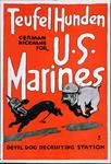 XV-1962-0093 Wervingsplaten Amerikaansche Leger en Marine voor de oorlog '14-'18.