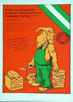 XXIII-1973-0010 Aankondiging door Aktiegroep Oude Westen van de eerstesteenlegging voor nieuwbouwwoningen in het Oude Westen.