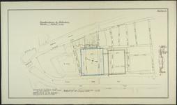 1978-54 Ontwerp voor het stadhuis te Rotterdam: situatieplan.
