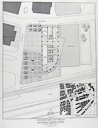 2003-1158 Plannen voor het kantoorgebouw van de Fortisbank (Crédit Lyonnais) aan de Blaak.