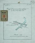 RT-G-FN108-1 Situatieplan voor de te leggen gasbuizen door de staatsspoorweg bij het Spuikanaal op het eiland Feijenoord.