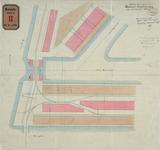 RT-G-FN120 Plan van de inrichting van de sporen in de straat buiten het handelsterrein in de wijk Feijenoord.