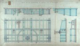 RT-G-FN122-4 Details van het middengedeelte van de draaibrug over de Spoorweghaven, de Spoorweghavenbrug.