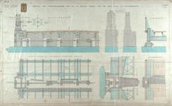 RT-G-FN122-5 Details van de opzettoestellen op de kleine pijlers van de brug over de Spoorweghaven, de Spoorweghavenbrug.
