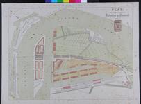 RT-G-FN129 Plan van de uitbreiding van Rotterdam op Feijenoord.