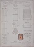 RT-G-FN146-2 Inrichting van de gasfabriek in de wijk Feijenoord, condenser, cokes-toren en wastoestel. Aanzichten en ...