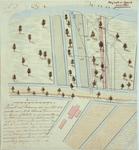 RT-G-FN15-3 Kopie van een kaart van 1826, nummer 3, van een gedeelte van het eiland Feijenoord waarop de grond is ...