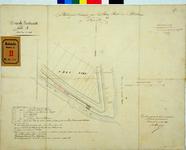 RT-G-FN20 Plattegrondtekening van de bergplaats van petroleum op het eiland Feijenoord aan het Zwanengat en het Mallegat.