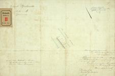 RT-G-FN21 Kadastrale kaart van grond op Feijenoord behorend bij het verzoek van de heren Hudig en Pieters om ...