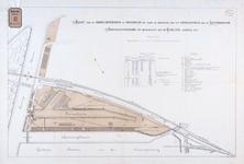 RT-G-FN220-2 Kaart van de handelsterreinen die door de afschaffing van het erfpachtsrecht van de Rotterdamse ...