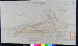 RT-G-FN221-3 Situatietekening van de verbindingssporen tussen het terrein van de Rotterdamse Handelsvereniging en de ...