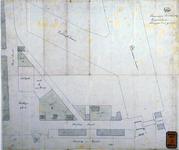 RT-G-FN244-2 Situatietekening van de verkoop van grond aan de Stieltjesstraat en de Rosestraat aan Buskens en Kurpershoek.