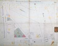 RT-G-FN247 Situatietekening van de verkoop van grond aan de Stieltjesstraat en het Stieltjesplein aan Buskens en Kurpershoek.