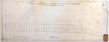 RT-G-FN252 Kaart van de Binnenhaven en de Entrepôthaven met peilingen op 27, 28 en 29 januari 1886.