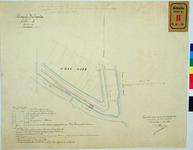 RT-G-FN28 Kadastrale kaart betreffende grond op het eiland Feijenoord, aan het Zwanengat en het Mallegat, behorende bij ...