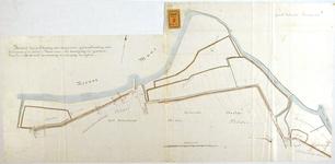 RT-G-FN48 Kaart van de uitbreiding van Rotterdam op de linker Maasoever, het gebied van de gemeente Charlois tussen de ...