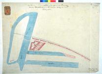 RT-G-FN67-2 Ontwerptekening van de inrichting van het handelsterrein op het eiland Feijenoord voor de aanleg van een ...