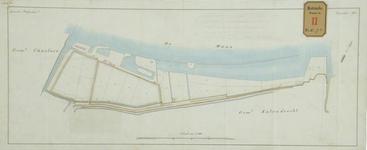 RT-G-FN71-2 Tekening van het terrein tussen de Katendrechtse Veerdam en de Haven van Charlois, behorende bij het ...