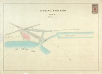 RT-G-FN73-2 Kaart van het in sectie Q gelegen terrein tussen het Spuikanaal en de Varkenoordsekade, overlegd bij brief ...