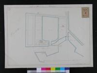 RT-I-48 Kopie van een kaart van de aan Quirijn de Visscher door de stad verkochte gronden aan de Zalmhaven en van de ...