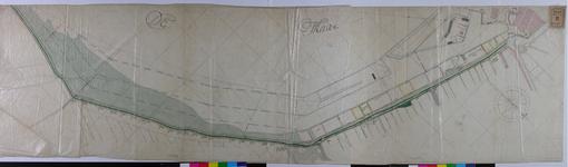 RT-I-49 Tekening van de door de stad Rotterdam aan particulieren in gebruik gegeven of nog te geven grond aan de Hoge ...