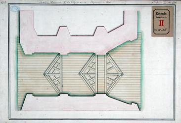 RT-I-58-1-TM-7 Omslag met 7 tekeningen behorende bij een ontwerp van de ingenieur Reetz om Rotterdam tegen hoog water ...