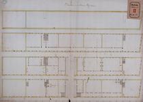 RT-I-72-3 Plattegrond van het Gereformeerd Burgerweeshuis in de Goudsewagenstraat. Tekening hoort bij het plan tot ...
