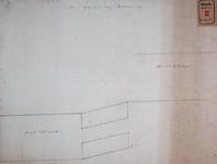 RT-I-78-2 Plan van de omtrek en de stand van de nieuwe Delftse Poort.