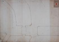 RT-I-78-3 Plan van de omtrek en de stand van de nieuwe Delftse Poort.
