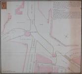 RT-I-80-2 Plan van de situatie van de nieuwe Delftse Poort en de Hofpoort, voor een project tot hernieuwing van de ...
