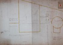 RT-I-87-1 Tekening behorende bij het verzoek van Salomon Bosch, Jan Pott en Gerrit van der Pott om afstand van grond ...