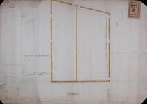 RT-I-87-2 Tekening behorende bij het verzoek van Salomon Bosch, Jan Pott en Gerrit van der Pott om afstand van grond ...