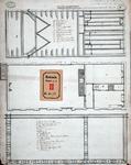 RT-I-92-6 Ontwerp voor een diaconieschool in de Nieuwsteeg bij het Bombazijnenkerkhof: 3 plattegronden en 1 ...