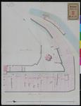 RT-II-143 Kadastrale kaart van de erven gelegen aan het Haagseveer en de Vest nabij de Plaats Harmonie vroeger de St. ...