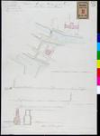 RT-II-180 Plattegrond en profielen van de geprojecteerde waterleiding van de Leuvehaven naar het Coolsingelziekenhuis ...