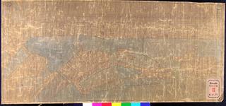 RT-III-221 Kadastrale kaart van de voormalige Marinewerf, het Buizengat en de Hogenzeedijk maar zonder monument.