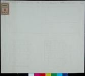 RT-III-225-2 Achter- en voorgeveltekening en plattegrond van het huis aan de Boompjes van de wethouder A.T. Prins.