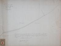 RT-III-243 Kadastrale kaart van de gemeente Rotterdam sectie B. Afgebeelde straten: de Kruiskade van Delfshaven (grens) ...