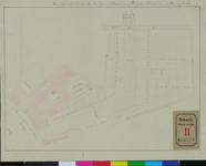 RT-III-270 Plattegrond voor het maken van een nieuwe straat van de oostelijke Rottekade naar de Warmoezierslaan ...