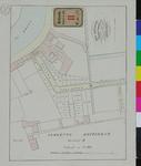 RT-III-271 Plattegrond van te verkopen percelen op het terrein van de voormalige garancinefabriek (meekrapfabriek) ...
